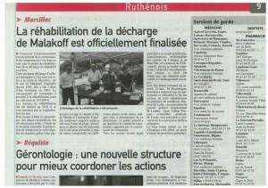 Midi Libre, 2 juin 2011