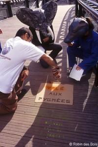 Bois tropical, avec Bruno Manser, Rennes, France 1998