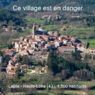 (Français) Lapte (43) : un village en danger