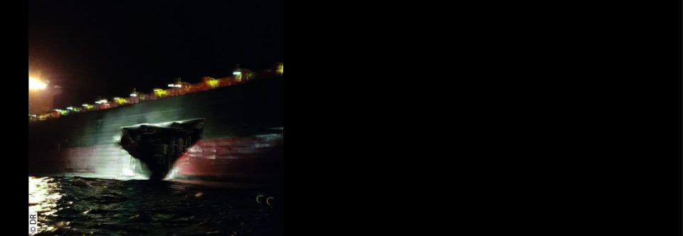 Accident de la route en Méditerranée