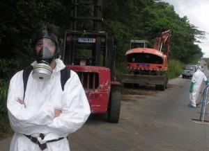 Déchets toxiques, Abidjan, Côte d'Ivoire 2006