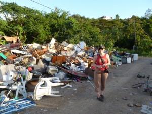 Déchets en Guadeloupe, France 2011